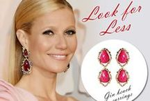 Amrita's Looks for Less / Love that celebrity look?  Searching for a style trend but on a tight budget?  Amrita shows you pieces that give you the same look, but for much much less! / by Amrita Singh Jewelry