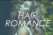 Hair Romance / #hair #style #cut #color #short #long #wavy #curly #straight #natural #dyed #beauty #looks #howto #diy