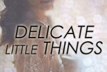 Delicate Little Things / #delicate #littlethings #jewelry #styles #fashion #mothersday #mom #gift #bangles #pendant #necklace #ring #stacked #bracelet #studs #earrings #tiny #simple #petite #classic #collection