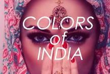 Colors of India / #indian #beauty #fashion #dress #outfit #style #women #people #men #travel #places #colorful #holi #henna #faces