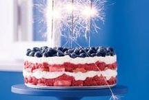 Stars & Stripes / #patriotic #america #red #white #blue #memorialday #4thofjuly #USA #stars #stripes #american #flag #jewelry #accessories #beauty #fashion #style #celebration #fireworks #theme #food #recipe #diy
