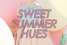 Sweet Summer Hues / by Amrita Singh Jewelry