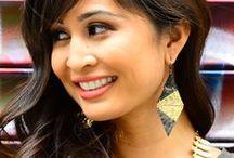 Light Summer Earrings / #summer #earrings #lightweight #style #fashion #styleguide #outfit #accessories #jewelry #hoops #studs #dangles #chandelier