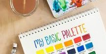 Watercolour Painting / Watercolour ideas, paintings, projects, tutorials and inspiration.