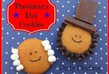 Presidents' Day / Recipes and other ideas for celebrating Presidents' Day.