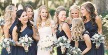Navy Weddings / Elegant Navy wedding inspiration