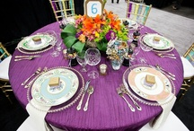 Wedding Colors ~ Purple shades / Purple wedding colors are always perfect colors you both will love. #purple #wedding