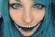 Halloween fashion Makeup / Maquillaje de fantasía especial para Halloween, la forma más fashion de destacar en una fiesta de disfraces, con el maquillaje.  Halloween make up fashion
