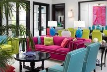Dream Rooms color color color... / I want color in my life...   ♥ / by Enid Berrios