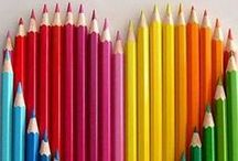 Life is colorful / brightful color is cheerful.  Enjoy colorful life.