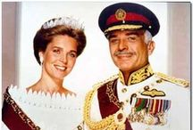 Jordan - Noor al-Hussein, Queen of Jordan / Born Lisa Najeeb Halaby, 4th spouse of King Hussein of Jordon.  USA citizen by birth, she renounced it in Favour of a Jordanian citizenship. She wed on 15 June 1978. Children: -Prince Hamzah (Princess Noor bint Assem) -Prince Hashim (Fahdah Mohammed Abu Neyen) -Princess Iman  -Princess Raiyah King Hussein died in 1999