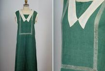 """1920s Wmn - Day / Clothes worn to go out during the day and for afternoon engagements. The latter often blur into the """"tea and party"""" category, as far as I can tell. :)"""