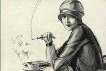1920s Smoking