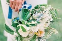 Blue and Green Wedding Colors / by Wedding Colors