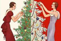 1920s Christmas & Winter / Winter festivities