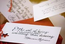 Art Styles / Calligraphy & handlettering