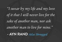 The Writings of Ayn Rand / Fiction and nonfiction works with unforgettable heroes and thought-provoking ideas. / by AynRand.Org