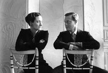 British - Wallís Simpson, Duchess of Windsor and Prince Edward, Duke of Windsor a love story / Love story Married June 3, 1937 at the Chateau de Cande. No member of Edward's family attended. Sadly he died in 1972 and she became a recluse until her death.