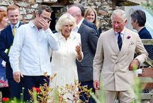 British - Camilla Shand (Parker-Bowles) Wales, Duchess of Cornwall / First marriage: July 4, 1973 at Guards Chapel married Andrew Parker-Bowles.  Divorced 1995 Second Marriage: April 9, 2005 civil ceremony at Windsor Guildhall with a religious blessing held at St George's Chapel, Windsor Castle. Nee: Camilla Rosemary Shand Parker-Bowles. Children from 1st marriage: -Tom Parker-Bowles married Sara Buys on 9/10/2005. -Laura Parker-Bowles married Harry Lopes on 5/6/2006.