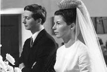 Liechtenstein - Princess Marie of Liechtenstein / Née: Countess Marie Kinsky von Wchinitz und Tettau. Married Prins Hans-Adam II on 30 July 1967 at St. Florin's, Vaduz. They have 4 children: -Prince Alois (Duchess Sophie of Bavaria) -Prince Maximilian (Angela Gisela Brown) -Prince Constantin (Countess Marie Gabriele Franziska Kalnoky de Korospatak) -Princess Tatjana Nora (Baron Phillip von Lattorff