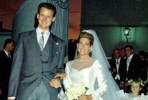 France - Princess Clotilde d'Orleans and Edward Crepy / Wedding took place in Ville-Manrique de La Condesa (Sevilla) in Spain.  Her gown was designed by Gianfranco Ferre of Dior.  Her tiara was worn by her grandmother, Isabelle, Countess of Paris at her wedding. Her Father is Michael, Count of Evreux. Her mother Beatrice de Franclieu. Children:   -Louis Nicolas -Charles Edouard -Gaspard -Augustin