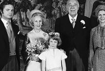 Sweden - Princess Lilian of Sweden / Née: Lillian May Davis Married Walter Ivan Craig (1940-1945) Then Prince Bertil, Duke of Halland (1976-1997). She died March 2013