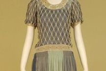1920s Wmn - Evening - c1925 / Women's Evening Clothes Roughly Dated 1925
