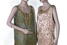 1920s Wmn - Evening c1928 / Women's Evening Clothes Roughly Dated 1928