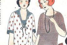 1920s Wmn - Day c1924 / Household and afternoon fashions from approximately 1924