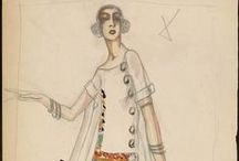 1920s Wmn - Day c1922 / Household and afternoon fashions from approximately 1922