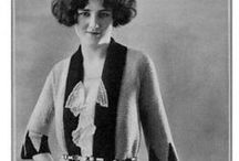 1920s Wmn - Day c1920 / Household and afternoon fashions from approximately 1920