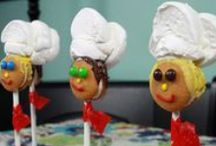 Chef Birthday Party / Your child will love practicing their culinary chops with their friends at their very own chef-themed birthday party!