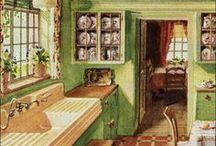 1920s Home - Kitchen