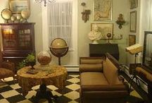 1920s Home - Living Room