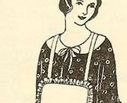 1920s Wmn - Aprons & House Dress