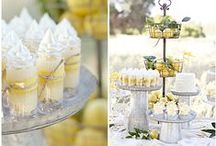 Dessert Tables + Candy Bars