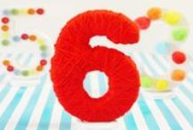 ABCs 123s Birthday Party / Letters and numbers is the ideal party theme for any age group. Children will appreciate the eye-catching decorations, fun party activities and delicious food in this colorful birthday party! / by PBS Parents