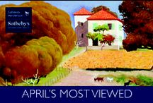 April 2015 Most Viewed / Curious which homes people are viewing on callawayhenderson.com? Here are the #mostviewedhomes for the month of April. Enjoy!