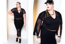 Plus Size Fashion: Fashion/Style / n. fash·ion  (fshn) 1. The prevailing style or custom, as in dress or behavior.  2. Something, such as a garment, that is in the current mode.  3. The style characteristic of the social elite.  4. a. Manner or mode; way. b. A personal, often idiosyncratic manner. 5. Kind or variety; sort.  6. Shape or form; configuration.  Plus size fashion, curvy style and what fat girls wear
