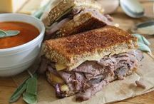 Soup and a Sandwich / most comforting combo EVER!  / by Roberta Phillips