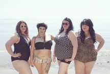 Plus Size Fashion: Swimsuits / Bikinis, Fatkinis, Tankinis, One Piece Swimsuits ... just what you need for the beach!
