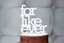 CAKE TOPPERS {ideas}