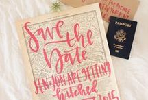SAVE THE DATE {ideas}