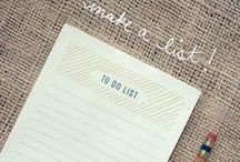 TAKE NOTES {ideas}