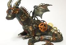 Thursday's Dragon / A 2015 challenge to myself to make a dragon each week.