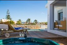 Villa Melia / Villa Melia is a two-storey villa designed to offer direct view to the sea from the first floor bedrooms and balcony. It offers 2 bedrooms and can accommodate 4 people in beds and up to 5 people if it is necessary.