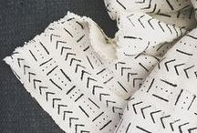 SO FINE goods / mud cloth, made in Africa, cushions, tribal, native, pattern, monochrome, mudcloth, home decor, printed cushions, scatter cushions