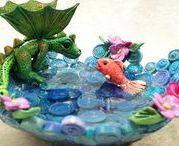 Dragon Inspiration-Polymer Clay / Dragons in all media to inspire new work