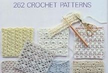 All Crochet -- Stitches and Patterns /            ~~~I'm addicted to Crochet!~~~   I have a wonderful collection of Vintage Crochet books that belonged to my Mom, and many more I've collected over the years.  I love to Crochet for fun, for crafts and my wonderful Grandchildren!  / by Frann Bonomo