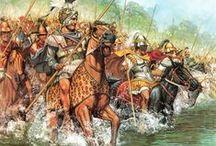 War Artworks / Illustrations de soldats et de batailles de l'Antiquité à nos jours ! / by Damien Bagaria